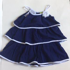 Penelope Mack toddler girl summer dress